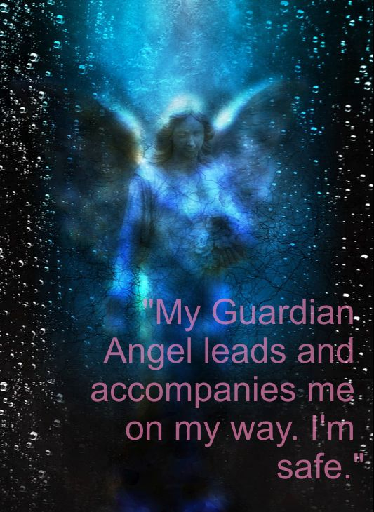 Guardian Angel Affirmation: