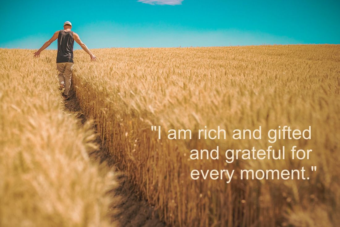 Fields of Gold - Affirmation: