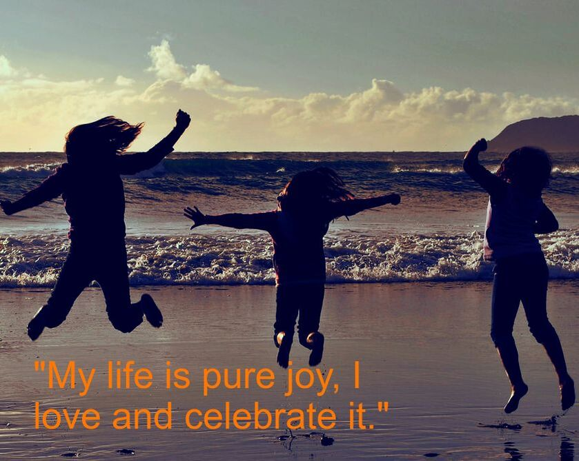 Children Playing & Spiritual Affirmation:
