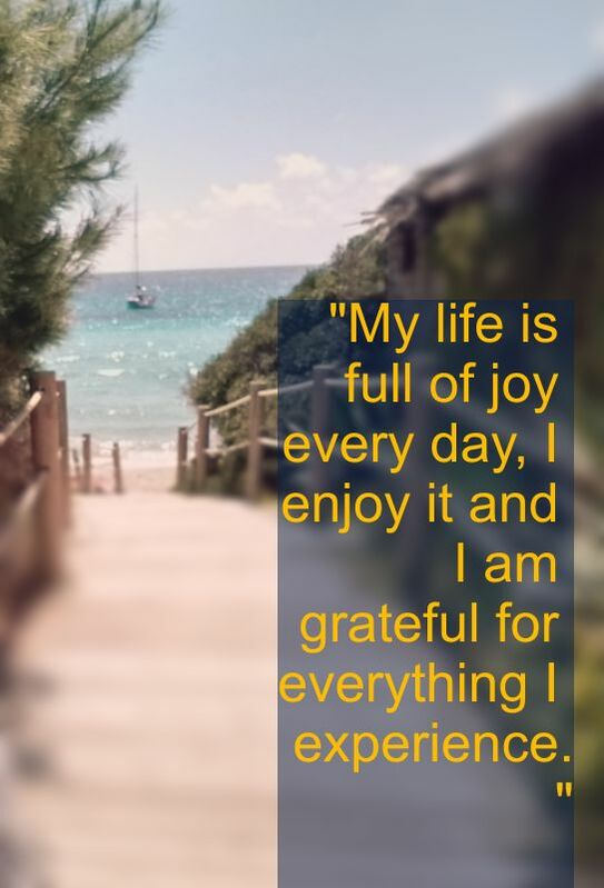 Beachlife, Affirmation: