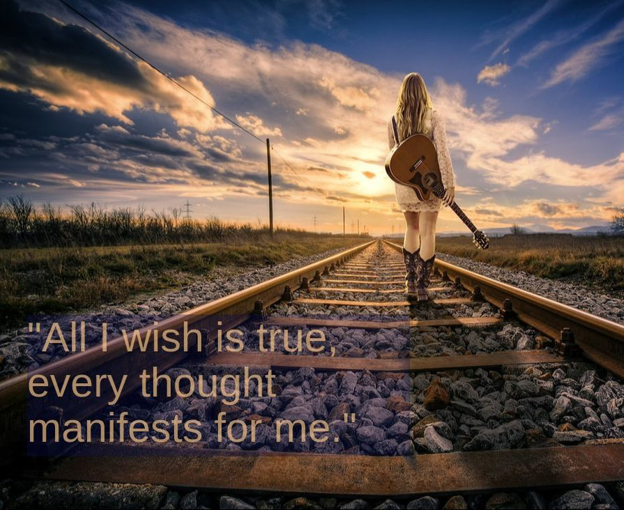 Railways, Girl with a Guitar & Spiritual Affirmation: