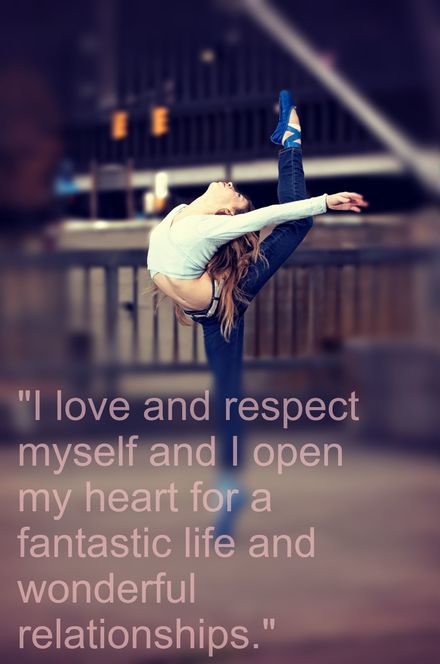 Dancer Girl - Affirmation: