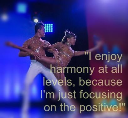 Dancers - Tarot Affirmation: