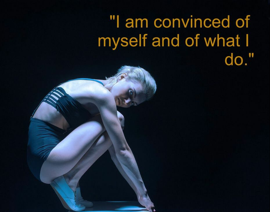 Dancing Girl & Spiritual Affirmation: