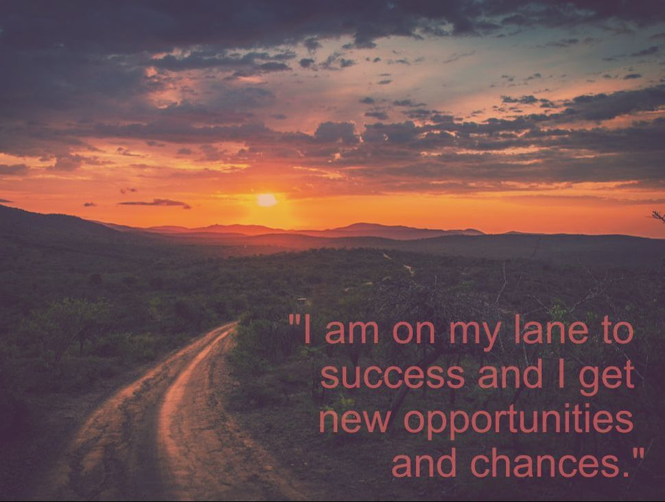 Sunrise &  Affirmation: