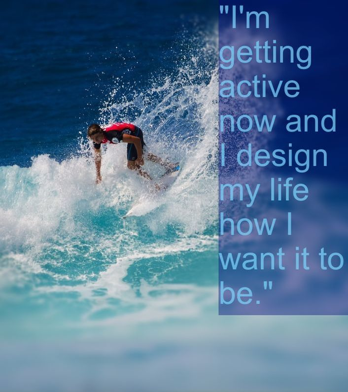 Surfer & Affirmation: